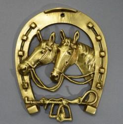 """Вешалка """"Подкова с лошадью"""", арт. 5436"""