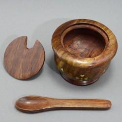 Солонка с ложечкой, арт. 5447