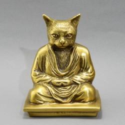 "Фигура ""Медитирующий кот"", арт. 5448"