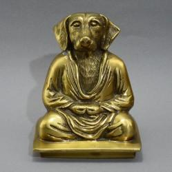 "Фигура ""Медитирующая собака"", арт. 5449"