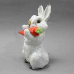 "Статуэтка ""Заяц с морковкой"" 12,5см, арт.5459"