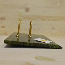 Подставка для перекидного календаря - календарница из змеевика, арт. 5505