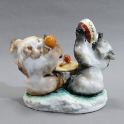 """Статуэтка - чернильница """"Мишки"""", арт. 5575"""