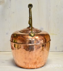 Медный чайник викторианский 4 литра, арт. 5583