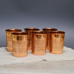 Медные стаканы 6шт., арт. 5639