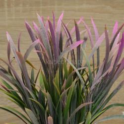 Цветок искусственный куст пырей осока розовый h=37см, арт. 5654