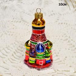 "Елочная игрушка ""Собор"", арт. 5666 ID4250"