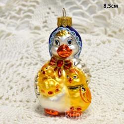 """Елочная игрушка """"Утка с утятами"""" арт. 5666 ID4251"""