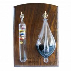Термометр + барометр 18*25см., арт. 4510