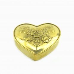 """Шкатулка """"Сердце"""" 3*7,5*8,5см, 190гр, арт. 0088"""