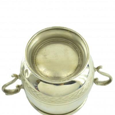Сахарница с крышкой 12,5*12,5*7,5см, 162гр, арт. 1294