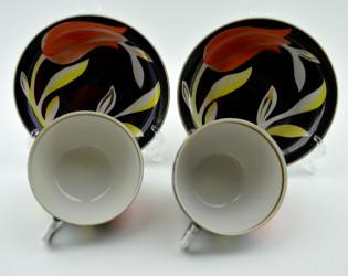 Чайная пара 2шт «Тюльпаны» , арт.2219
