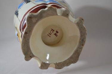 """Ваза - кувшин """"Воин"""" керамика, ручная роспись, 37см."""
