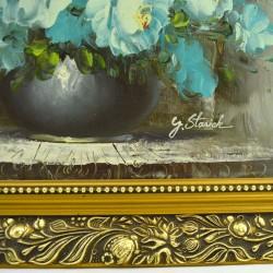 """Картина """"Ледяные розы"""", арт. 1145"""
