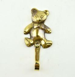 """Вешалка """"Медведь"""" на 1 крючок, 12см., арт 535"""
