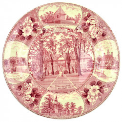 "Тарелка ""Historic Williamsburg Virginia"" , арт. 0813"