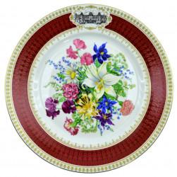"""Тарелка декоративная """"Цветы"""", арт. 2817"""