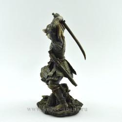 "Фигура ""Самурай"" 22*13*11см, 496гр, арт. 2713"