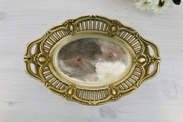 Тарелка - блюдо из латуни, 23*16*5см, ID 3323