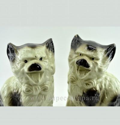 """Фигуры каминные 2шт. """"Викторианские коты"""" , арт. 2694"""