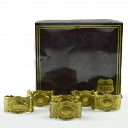Кольца для салфеток 6шт., 5,5*3,5*3,3см, арт. 1844