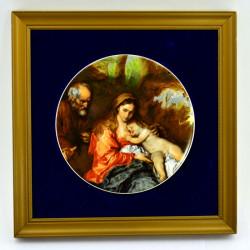 """Плакетка - панно, картина """"Дева Мария с младенцем"""" арт. 2837"""