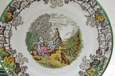 "Тарелки ""Виноград""  6шт., 16,5см, арт. 1675"