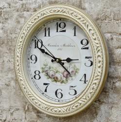 """Часы настенные Верона 9-9 """"Розы"""" d31см., арт. 4704"""