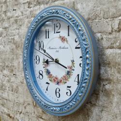 """Часы настенные Верона 7-6 """"Лилии"""" d31см., арт. 4703"""