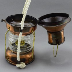 Лампа медная керосиновая подвесная, арт. 3911