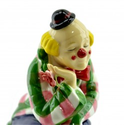 """Статуэтка  """"Клоун с собачкой"""" 18,5*12см., 626гр, арт. 2759"""