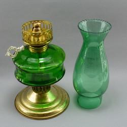 """Лампа керосиновая настольная """"Цветное стекло"""", арт."""