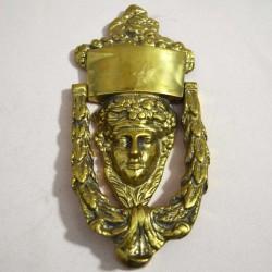 Дверной молоточек стиль эпохи Возрождение 19*8,5см  658гр., арт. 1137
