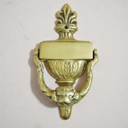 Дверной молоточек стиль эпохи Возрождение 17,4*9см 393гр., арт. 1136