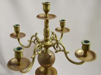 """Подсвечник канделябр на 5 свечей """"Шар"""", арт. 1805"""