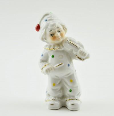 "Статуэтка ""Клоун со скрипкой""  12,5см"