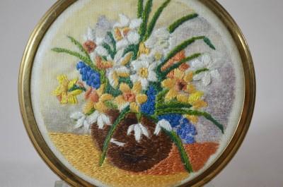 """Плакетка """"Весенний букет"""" 7,6см., арт. 940"""