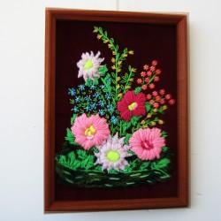 """Картина вышивка """"Цветы. Весенний букет"""", арт. 1619"""