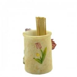 "Подставка под зубочистки ""Тюльпаны"", арт. 0315"