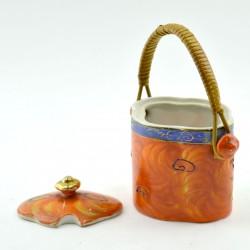 """Сахарница """"Сацума"""", ручная роспись, арт. 1618"""