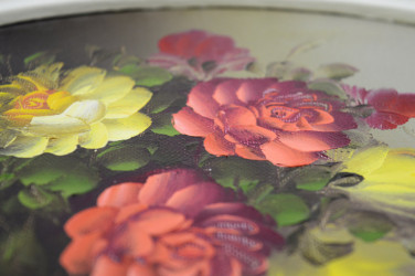 """Картина в овальной раме """"Букет роз"""", арт. 0948"""