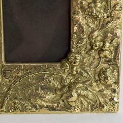"""Фоторамка """"Мотылек"""" латунь, арт. 1766"""