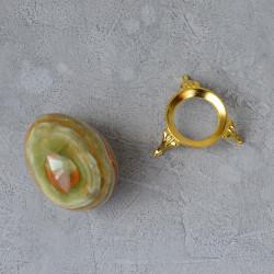 Яйцо 5*7см на подставке, камень оникс, арт. 5531