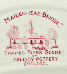 "Тарелка для костей, 6шт. ""Thames River Scenes"" , арт. 3320"