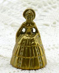 """Колокольчик """"Девочка"""" бронза, арт. 3629"""