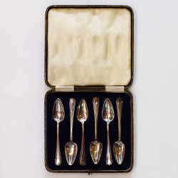 Набор чайных ложек 6шт. в футляре, арт. 3758
