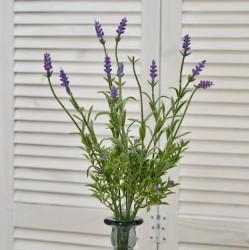 """Цветок искусственный ветка """"Лаванда"""" 38см, арт. 4638"""