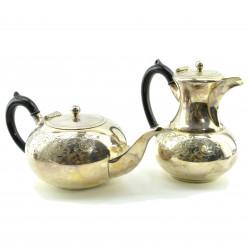 """Чайно-кофейный сервиз """"Цветочный узор""""  из 2х пр., арт. 1677"""