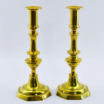 Подсвечники Викторианские, пара на 1 свечу, арт. 2860